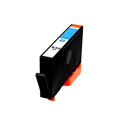 TONERPACK 935XL V4/V5 Cyan Cartucho de Tinta Generico para HP - Reemplaza C2P24AE/C2P20AE