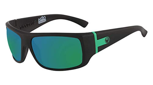 Dragon Dr Vantage Ll Mi H2o Gafas de sol, Color Negro Mate, 63/16/125 para Hombre