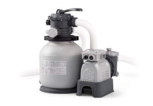 Intex Krystal Clear Sand Filter Pump - Poolreinigung - Sandfilteranlage - 7,9 m³ - 220-240V (W/RCD)