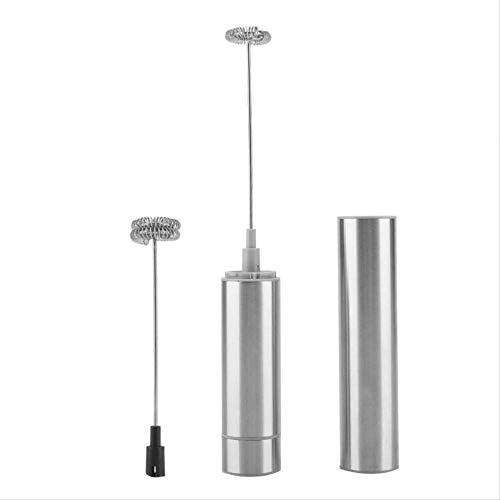 Genex Sahnespender Lachgas Edelstahl Handheld elektrische Milch Aufschäumer Schaum Maker w/Doppel Whisk Köpfe Küche Kochwerkzeuge