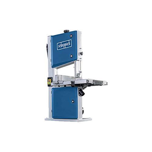 Scheppach HBS261 Bandsäge mit 2. Sägeblatt ( 2 Geschwindigkeiten, 500W, Durchlasshöhe 120mm ,  Schnittgeschwindigkeiten 660 / 960 min, Tischverstellung 0-45°)
