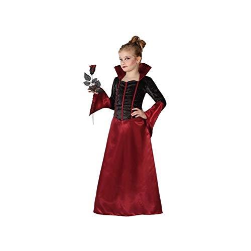 Atosa-22747 Vampiro Disfraz Vampiresa, Color Morado, 7 a 9 años (22747)