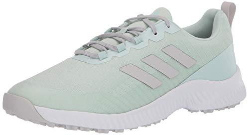 adidas Women's W Response Bounce 2 SL Golf Shoe, FTWR White/Dash Green/Grey one, 5.5 Medium US