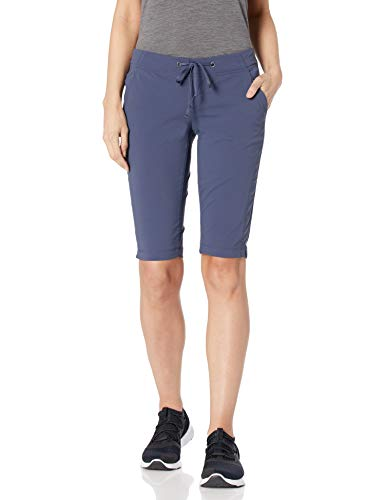 Columbia Women's Anytime Outdoor Long Short, Nocturnal, 12W x 13 L