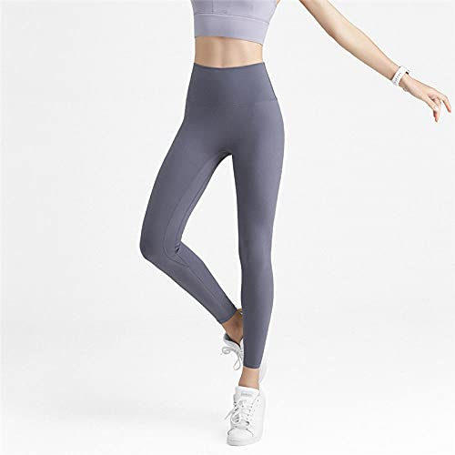 MLLM Ideal para Danza Correr Trotar Ejercicio,Pantalones Deportivos de Yoga para Fitness, Pantalones Ajustados de Alta Velocidad elásticos-Gris_XL,Aeróbico Pilates Fitness Pantalones