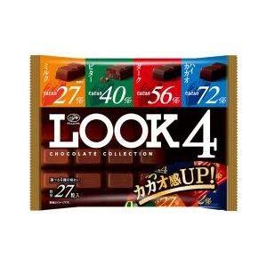 不二家 ルック4 チョコレート ファミリーパック 185g×18入