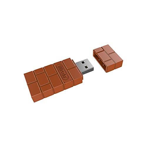 8Bitdo Wireless Bluetooth Adapter for Windows/Mac/Raspberry Pi/Switch