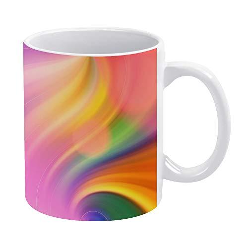 Lustige Kaffeetasse, 425 ml, Rogue Red Wallpaper Kaffee Tee Tasse Lustige Tasse Neuheit Kaffeetasse für Männer Frauen Geburtstag Festival Weihnachten und Halloween