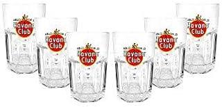 Havana Club Rum Longdrink Glas Gläserset - 6x Gläser 2/4cl geeicht