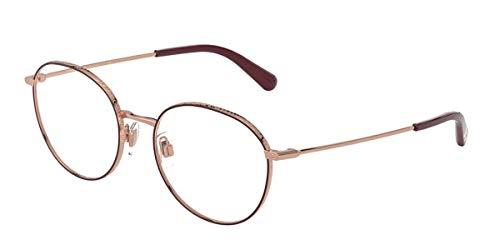 Dolce & Gabbana Occhiali da Vista S DG 1322 PINK GOLD/BORDEAUX 53/18/140