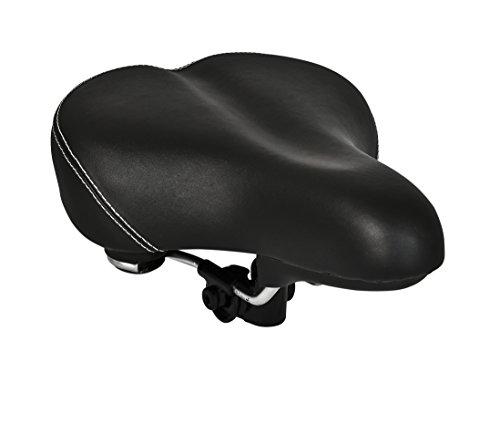 Büchel Luftfedersattel City, für alle City und Tourenräder, schwarz, 96010202