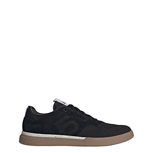 Five Ten Adidas Sleuth Zapatillas de montaña para hombre, Negro (negro/negro/Gum), 44 EU