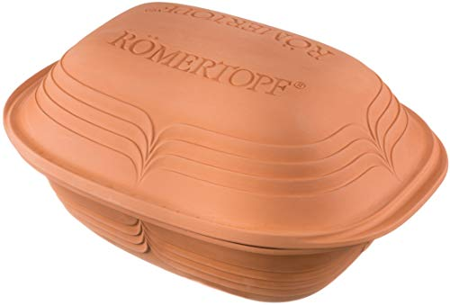 Römertopf Bräter Modern Look Keramik Dampfgarer 3 Liter, Modell sortiert