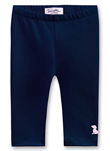 Sanetta Baby-Mädchen Leggings, Blau (Deep Blue 5993), 86 (Herstellergröße: 086)