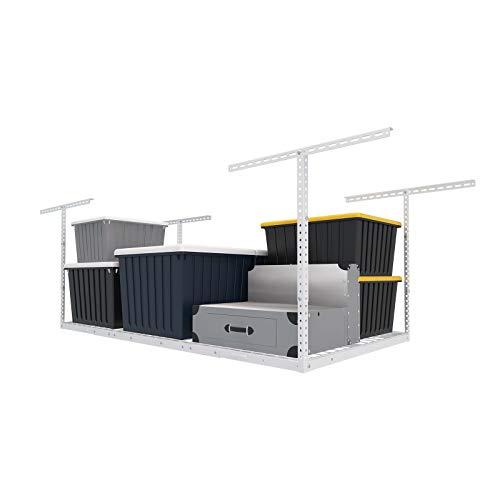 FLEXIMOUNTS 3x6 Overhead Garage Storage Adjustable Ceiling Storage Rack 72