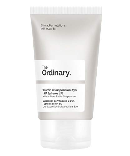 The Ordinary Vitamin C Suspension 23{a9bd5c452d0f45b1d5beee4d82b7882513a9309f9bbb9e2596392149a8c6b472} + HA Spheres 2{a9bd5c452d0f45b1d5beee4d82b7882513a9309f9bbb9e2596392149a8c6b472} 30ml
