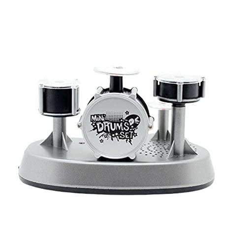 bottl Tambor de dedo Mini Music Drum Set Finger Touch Drum Percusión Instrumento Regalo Creativo para Amigos
