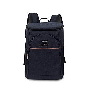 31kp9j000JL. SS300  - FengHui 18L refrigerador aislado caja de almuerzo del bolso del almuerzo grande enfriador mochila bolsa Azul, valor: Azul