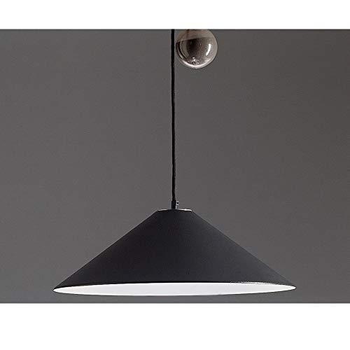 Artemide – Lampe à suspension Artemide agrégé Loquet Gris foncé Diamètre 530 mm cône métal