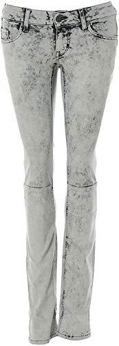 MUSTANG Damen Jeans Jeanshose Gina Skinny Slim fit Low Rise Slim Leg (Soft Black, W29/L34)