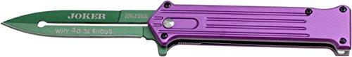 Tac-Force Taschenmesser Joker Violett/Grün, TF-457PGN