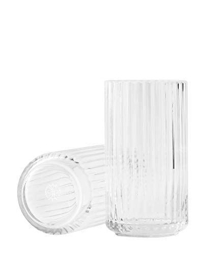 Lyngby Lyngbyvase Vase, Glas, durchsichtig, 8,5x8,5x15 cm