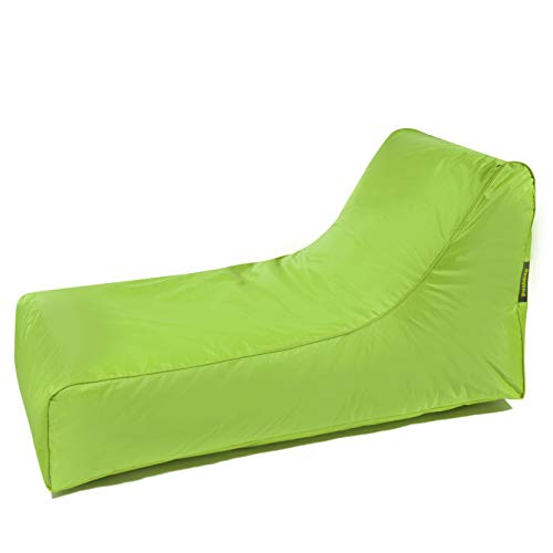 pushbag Stretcher Kindersitzsack, 100% Polyester, Lime, 70 x 125 cm