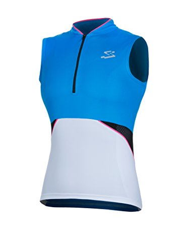 Spiuk Maillot Ciclismo Race Azul/Blanco M