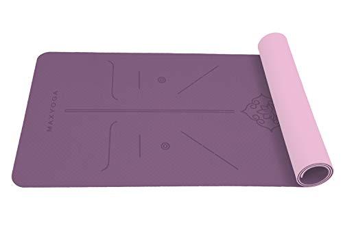 MAXYOGA MaxDirect Esterilla Yoga con Sistema de...