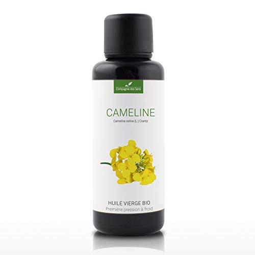 CAMELINE - 50mL - Huile Végétale Certifiée BIO, garantie vierge et de première pression à froid - Aromathérapie - La Compagnie des Sens