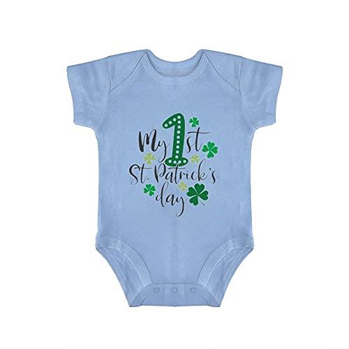 DKISEE My First Saint Patricks Day - Mono para bebé, color azul