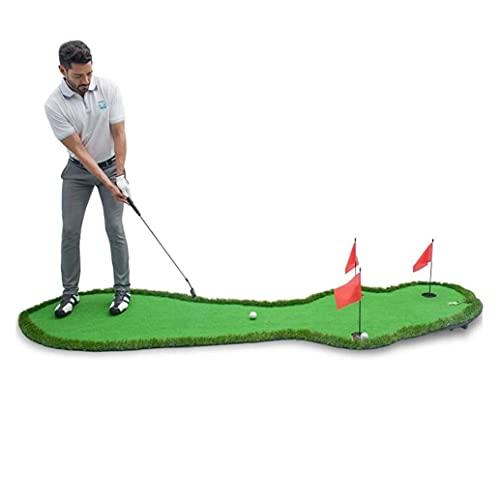 WBJLG Golf Putting Green Mat Golf Training Equipment Entertainment Putting Practice Mat Office Golf Practice Blanket Outdoor Mini Gift for Friends