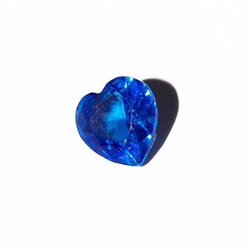 Colgante de corazón–5mm encanto flotante se ajuste a living Memory Lockets y Origami búho estilo Lockets