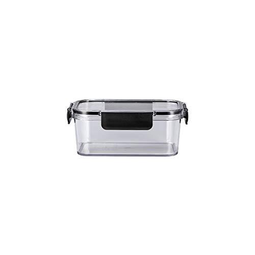 LHTCZZB Boîte de rangement avec couvercle étanche portable silicone + PP + PRT Matériel de fruits frais de maintien et boîte de légumes Convient for réfrigérateur Micro-ondes Chauffage alimentaire Lun