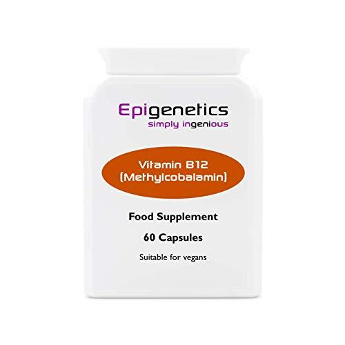 Vitamin B12 Methylcobalamin   1mg Vitamin B12 Supplement   60 Vegan Friendly Capsules UK Made   1 Capsule Daily (2 Month Supply)