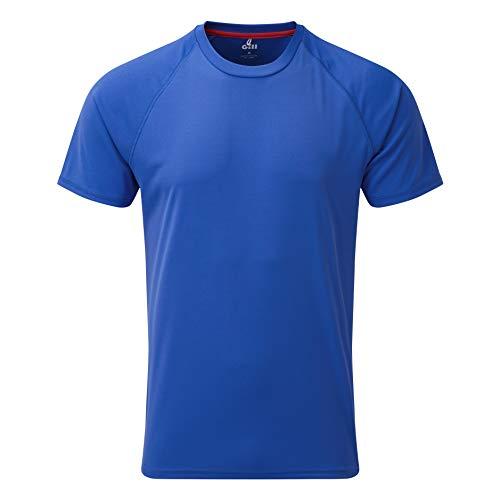 Gill Mens UV Tec Crew Neck T-Shirt 2019 - Blue M