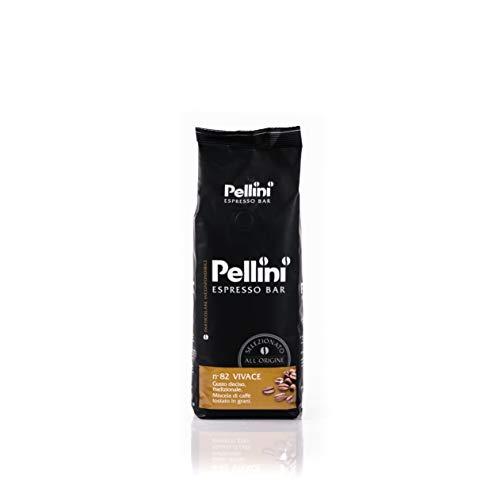 Pellini Caffè, Bohnenkaffee von Pellini Espresso Bar Nr. 82 Vivace, 500 g, 2er Pack