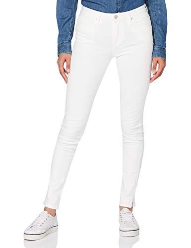 Tommy Hilfiger Mujer Venice Slim Rw A Hana Straight Jeans, Blanco (Classic W24 / L34