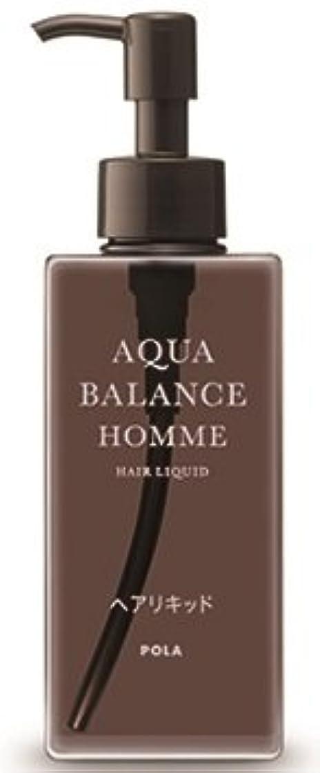 カスタム付属品過度のAQUA POLA アクアバランス オム(AQUA BALANCE HOMME) ヘアリキッド 整髪料 1L 業務用サイズ 詰替え 200mlボトルx1本