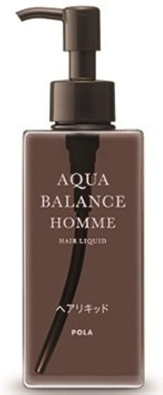 厳密に処理するスイAQUA POLA アクアバランス オム(AQUA BALANCE HOMME) ヘアリキッド 整髪料 1L 業務用サイズ 詰替え 200mlボトルx1本