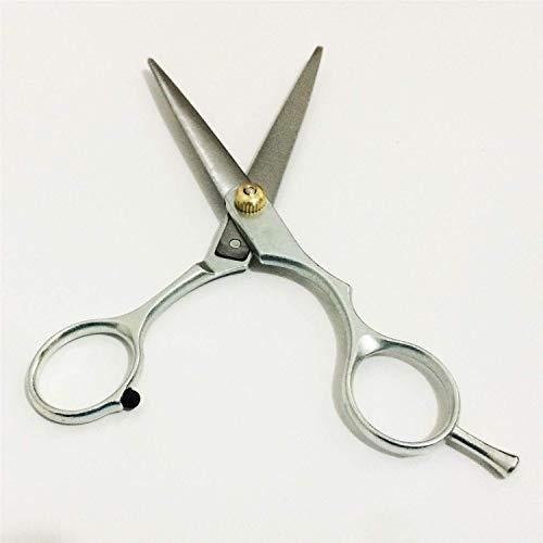 Friseurschere, Professionelle Friseurschere 6,0 Zoll, Flachschere + NTS-Schere, Stahlknallschere unoxidierbar für Barbers oder Maison