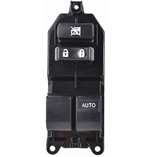 KUANGQIANWEI Botonera elevalunas Interruptor de la Ventana de Control Maestro Ventana Interruptor de Encendido for los Toyota Yaris Rav 4 en Forma for el Corolla 2005-2011 (Color Name : Black)