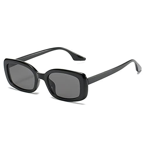 WANGZX Gafas De Sol Cuadradas De Moda Gafas De Sol Rectangulares De Montura Pequeña Retro para Mujer Gafas De Mujer Uv400 como En La Imagen