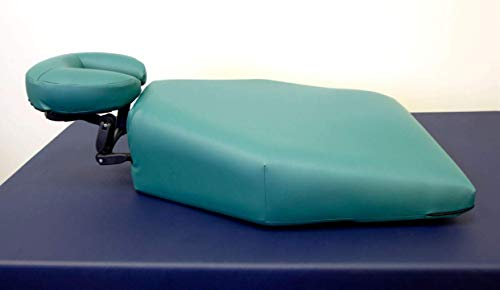 Oakworks Proning Cushion, Face Down Recovery, Adjustable Face Rest, Upper Body Torso Support, Prone Position Pillow