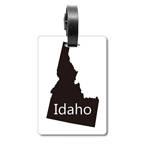 Idaho de Verenigde Staten van Amerika kaart Cruise koffer Bag Tag Tourister identificatie label
