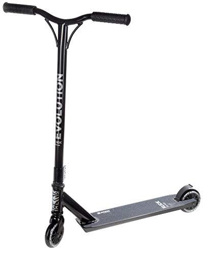RAVEN Stunt/Freestyle Scooter, Roller, Tretroller, Cityroller Evolution Slick Series 100mm (Black)