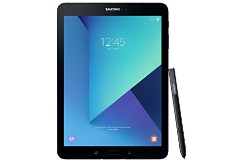 Samsung Galaxy Tab S3 T820 24,58 cm (9,68 Zoll) Touchscreen Wi-Fi Tablet PC (Quad Core 4GB RAM 32GB eMMC Wi-Fi Android 7,0) schwarz inkl. S Pen