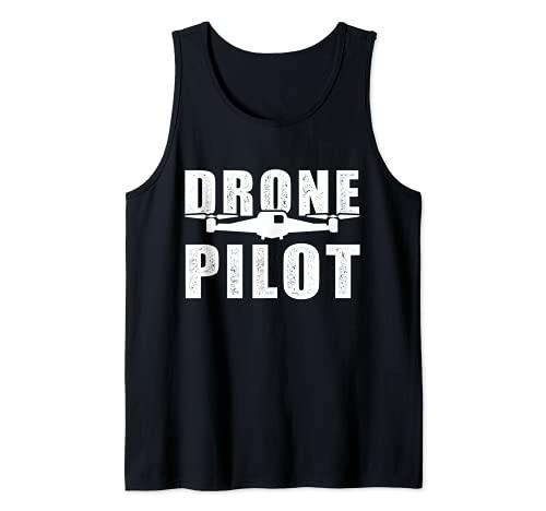 - Drone Pilot - Drohne Quadrocopter Design Tank Top