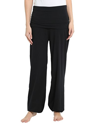 Ultrasport Damen Yogahose Balance Lang, schwarz, S