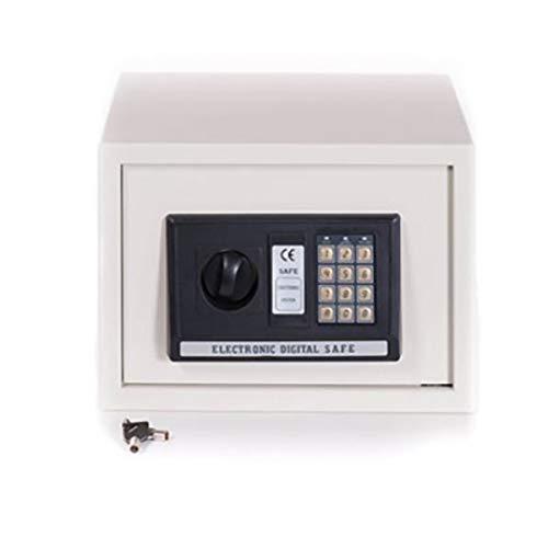 Cassaforte a muro elettronica con combinazione digitale 35x25 cm bianca
